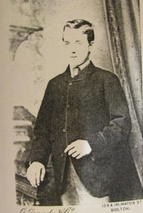 Thomas Mewburn Crook c.1882 taken in Bolton, Manchester