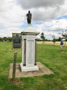 Britannia - on World War 1 War memorial by Thomas Mewburn Crook