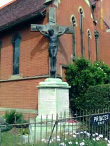WW1 Memorial at Felixstowe by Thomas Mewburn Crook